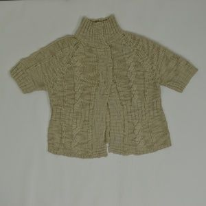 Chicos  Plus 2 Beige   Sweater Acrylic Solid